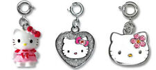 CHARM IT! Hello Kitty Charms 3-Set (Pretty in Pink Glam Girl Silver Screen) NEW