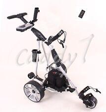 Elektro Golf Trolley CADDYONE 450 silber inkl. 33AH-Bleigelakku / Fernbedienung