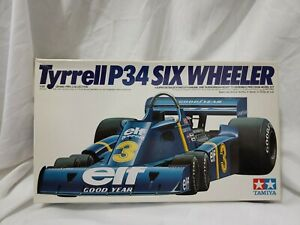 Tamiya 1/20 Tyrrell P34 Six Wheeler Big Scale Plastic Model Kit