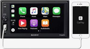 Sony XAV-AX1000 6.2 inch Apple CarPlay Media Receiver with Bluetooth