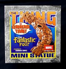 The Thing Ben Grimm Mini Statue New FF4 Bowen Designs Marvel Fantastic Four  .