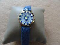 Murrina Veneziana Quartz Ladies Watch - Blue Band