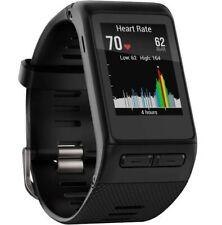 Garmin Vívoactive Smartwatch GPS HR-nero con caricatore e confezione originale