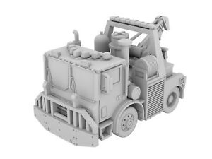 1/87 (HO) Fire truck 3d Printed PAPD Tunnel Wrecker Not FDNY or NYPD