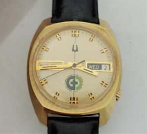 1973 Green Cross General Hospital, Ohio DR.A.L.Harbager Accutron 218 Men's Watch