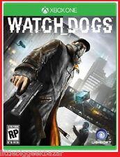 WATCH_DOGS  X-Box One Xbox Microsoft Jeu Video wathdog watchdogs