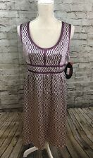 NEW Juniors PROENZA SCHOULER For Target Sz 13 Purple Sleeveless 100% Silk Dress