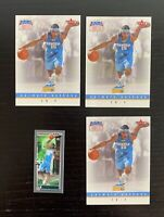 2003-04 Carmelo Anthony Rookie Card Lot - Fleer Trading Card Day + Topps Matrix