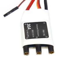JMT 30A SimonK 2-4S Lipo 5V 3A BEC Brushless ESC Mini Speed Controller f RC 380