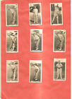 Cigarette Cards. Wills Aust. 9/48 Cricket Season 1928-29. Part Set. Bradman