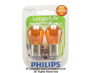 NEW Philips 2357NA Automotive 2-Pack 2357NALLB2 Bulb