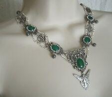 Fairy Necklace, renaissance medieval victorian fantasy art nouveau art deco