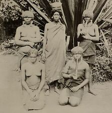 1899 PRINT COLONIAL SOUTH AFRICA NATIVE WOMEN OF NATAL KAFFIR CORN BEER