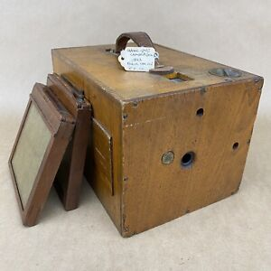 Blair Hawkeye Wooden 4x5 Detective Camera Original 1893 Model - ANTIQUE