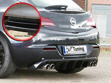 DIFFUSORE Posteriore approccio posteriore Grembiule con PDC ABS per OPEL ASTRA J GTC Nero Lucido