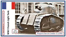 WWI French Tank Peugeot 1918 1/35 Cri.el Criel JMP Sparta Major Historica MENG