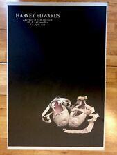 Vintage Harvey Edwards Poster Ballet Shoes Dance Zeitlin per Brugge California