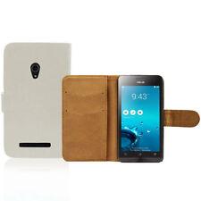 Fundas con tapa color principal blanco para teléfonos móviles y PDAs ASUS
