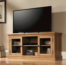 60 Inch Flat Screen TV Stand Credenza Media Entertainment Center Shelf Furniture