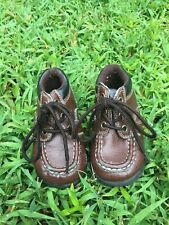 McKids Children's Shoes Brown Leather Baby Size 5
