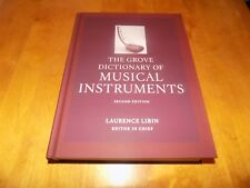 THE GROVE DICTIONARY MUSICAL INSTRUMENTS VOLUME 2 TWO Instrument Music Book NEW