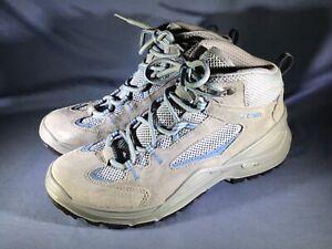 Lowa Women's Vento QC Hiking Boot Size 8.5 Lite Durable Grey Blue Worn 2