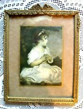 """Vintage Reynolds The Age of Innocence Beautifully Detailed Framed Print 8"""" x 10"""""""