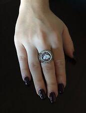 Anello in argento 925  cammeo coccinella sardonico ring cameo Made in Italy