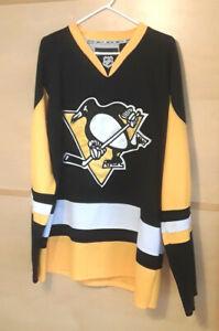 CARL HAGELIN PITTSBURGH PENGUINS Black Reebok CCM NHL Jersey =SIZE 48=