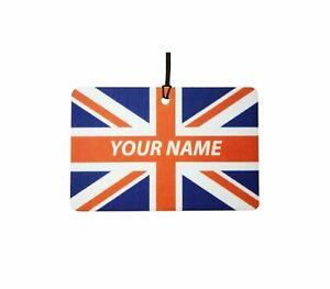 Great Britain Custom Car Air Freshener