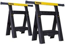 Stanley Model # STST60626 - Adjustable Sawhorse (2-Pack)