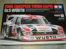 Tamiya 1/24 Ford Zakspeed Turbo Capri Gr.5 Wurth Model Car Kit #24329