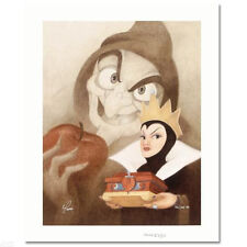 MORE FAIR THAN THEE signed by MIKE KUPKA Disney Giclee on Canvas SNOW WHITE COA