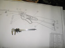 Marlin Ballard Rifle Full Size Drawings, Blueprints!