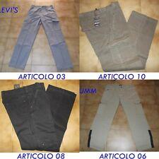 Pantaloni Uomo Levi's Guy Umm Con Tascone Comodo Largo Taglia 48 50 52 54 56 58