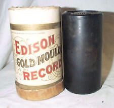 1 EDISON PHONOGRAPH 2m CYLINDER RECORD , THESE ARE SECONDS BUT WILL PLAY