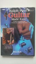 Learn to play Blues guitar with Ralph Paul's Guitar Made Easy (2 DVD set)