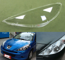 Peugeot 207 2009- 2013 HEADLIGHT GLASS LENS SET PAIR RIGHT AND LEFT