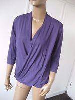 Madeleine elegantes Shirt  40  lila