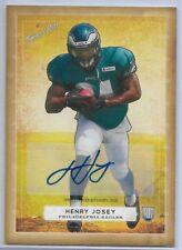 2014 Topps Turkey Red Henry Josey Philadelphia Eagles Autograph #40