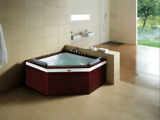 New ListingIndoor Two (2) Person Whirlpool Hydrotherapy Massage Spa Bathtub Corner Bath Tub