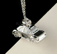 3D VW Beetle VOLKSWAGEN Cute Classic Bug CAR Unisex Charm Chain Necklace Jewelry
