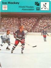 BOBBY HULL 1979 Sportscaster card #55-23A WINNIPEG JETS World Hockey Association