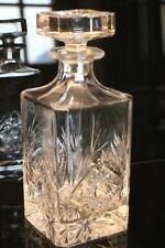 Carafe à whisky en cristal de Baccarat signé Klein