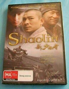 SHAOLIN DVD Jackie Chan NEW SEALED Region 4 AUST