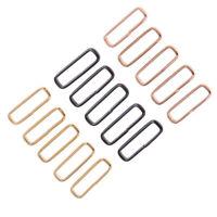 5pcs Watch Strap Buckle Stainless Steel Keeper Loop Retainer Ring 18-24mm