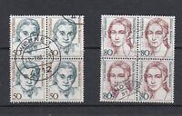 BRD Michel-Nr. 1304-1305 als Viererblock / 4er - gestempelt - Tagesstempel