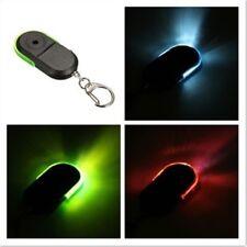 Anti-Lost Key Finder Locator Keychain Whistle Sound LED Wireless Random D5C