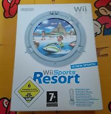 WII SPORT RESORT WII BUNDLE + WII MOTION PLUS PAL FR NEUF NEW SEALED