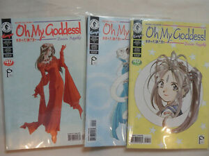 OH MY GODDESS! Part IX Seven Issue Lot  KOSUKE FUJISHIMA 1994 Dark Horse Comics